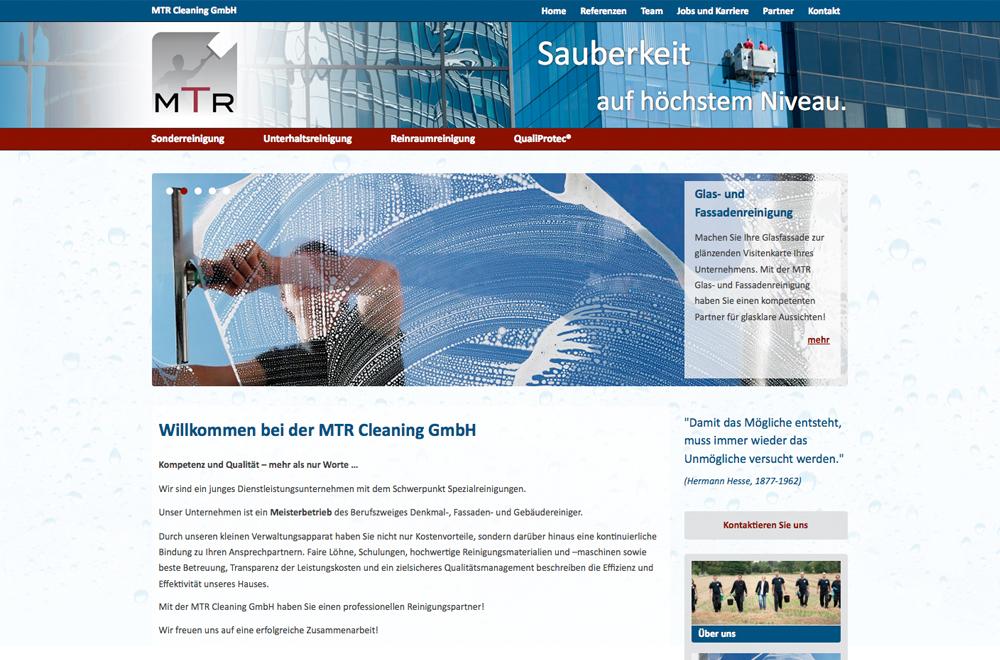 Webdesign wien logo referenzen mtr cleaning gmbh for Grafik design praktikum wien