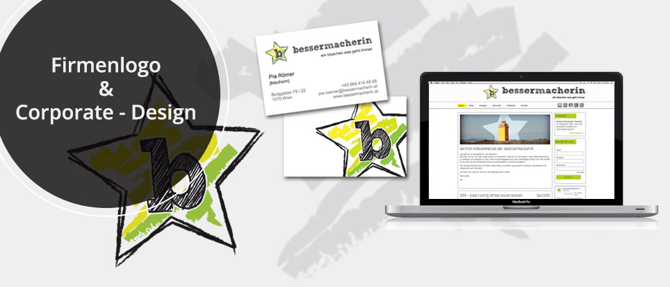Webdesign & Grafik - Beispiel: Firmenlogo & Corporate Design