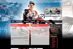 Webdesign & Grafik - Beispiel: Stefan Bradl