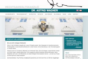 Webdesign & Grafik - Beispiel: Dr. Astrid Wagner