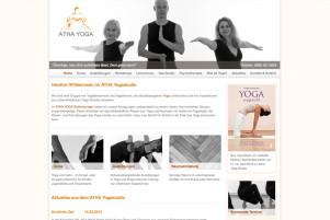 Webdesign & Grafik - Beispiel: Atha-Yoga Studio
