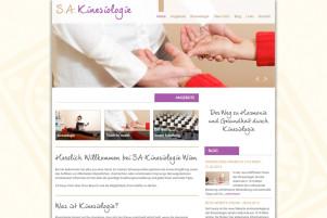 Webdesign & Grafik - Beispiel: SA-Kinesiologie