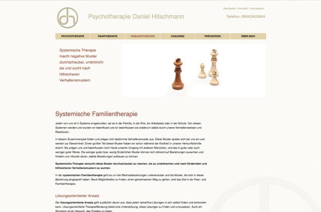 Webdesign & Grafik - Beispiel: Daniel Hitschmann
